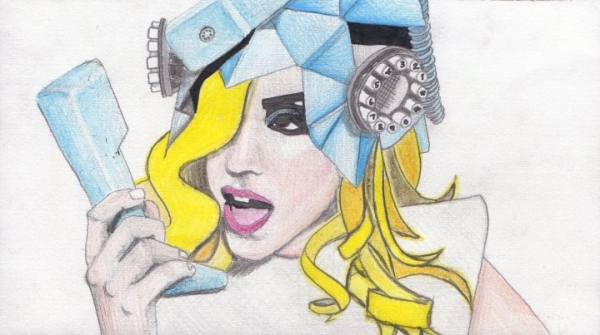 Lady Gaga by isherwood66